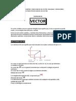 Vectores en r2 y r3 Calculo Vectorial