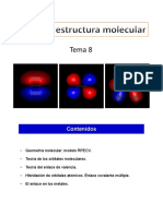 Tema 8 - Forma y Estructura Molecular