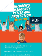 Children's emergency relief and protection