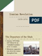 Week 3 Iranian Revolution