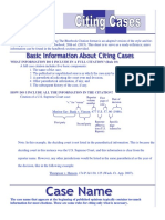 Bluebook Citing Cases 20th Edition