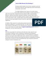 Dairy Milk Alternatives | How Oat Milk Good for you