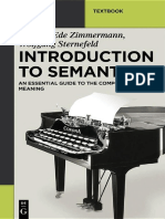 (Mouton Textbook) Thomas Ede Zimmermann, Wolfgang Sternefeld-Introduction to Semantics_ an Essential Guide to the Composition of Meaning-Mouton de Gruyter (2013)