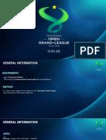 Open Grand League system - PDF