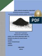 Adsorcion en Carbon Activado 4to Laboratio Ficometa