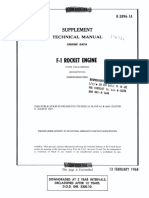 F-1 Rocket Engine Technical Manual Supplement (R-3896-1A)