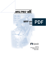 Mrp and Crp Training Guide