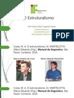 Estruturalismo Slide