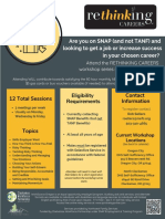 Jan-Feb 2020 Rethinking Careers Flyer - DHS OC & DHS NC