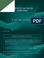 exenciones