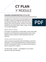inquiry module project plan