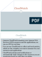 5.CloudWatch Identity and Access Management Route53 CloudFront