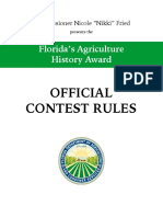 Ag History Rules