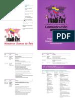 Progr<ma del Congreso Internacional de Comunicación