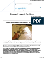 Homemade Magnetic Amplifiers.pdf