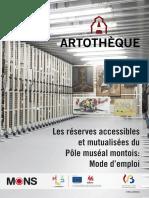 Artotheque - depozit vizitabil