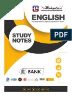 bank study notes