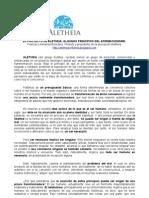 El Proyecto de Aletheia