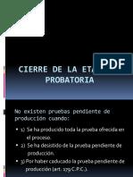 u.13-Cierre Etapa Probatoria
