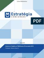 Direito do Trabalho p/ PGM Santos (Procurador) 2019 Aula 00