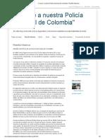 _Conoce a Nuestra Policía Nacional de Colombia__ Reseña Historica
