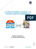 Tutoría - Separata - El Vínculo Entre La Familia y La Escuela