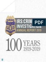 IRS CI 2019 Annual Report