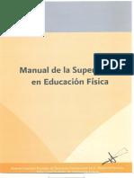 124. Manual de Supervision de Educacion Fisica. AFSEDF. 2012