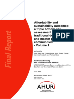 AHURI Final Report No63 Affordability and Sustainability Outcomes