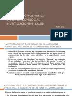 Investigación en Salud Seminario