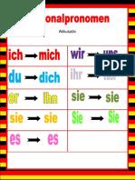 Willkommen Auf Deutsch Personalpronomen Akkusativ Arbeitsblatter Einszueins Mentoring Eisbrecher Gra 92592 (1)