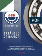 Ash Catalogo Rolamento 2019_2020