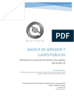 14 - Manual Para Backup y Llaves Del Servidor
