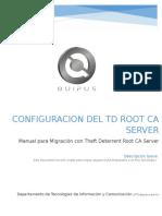 18 - Manual Configurar Migracion Con Theft Deterrent Root CA Server_actualizado