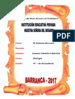 MONOGRAFIA  EL SISTEMA EXCRETOR.docx