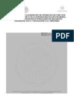 Lineamientos Para La Elaboración Del Informe de Auditoría