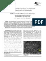 Nanometals of zinc