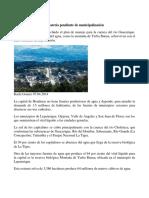 Protección de Cuencas, Materia Pendiente de Municipalización