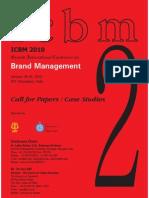 ICBM 2010 Brochure