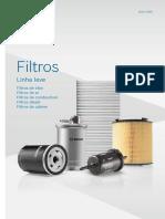 Bosch Catalogo Filtros Linha Leve 2019-2020
