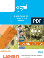 Catalogo de Productos Atomy 2019