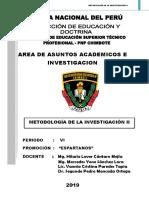 Módulo de Metodología de Investigación 2019 Vi Periodo