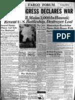 Dec 8 1941 Evening