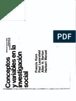319715468 P7 Korn Lazarsfeld Nacimiento y Desarrollo de Las Variables PDF