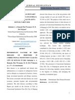 Determinan Kejadian Penyakit Kulit Pada Narapidana Di Lembaga Pemasyarakatan Kelas IIA Kota Kupang Tahun 2016