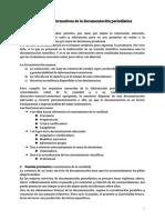 Funciones informativas de la documentación periodística