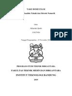 Take Home Exam AE2201 - Alfarizki Qodri - 13617030.pdf