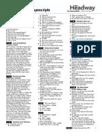 New Headway Pre-Inter 4th Edition_SB Tapescript