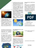 Importancia Del Cuidado de La Capa de Ozono