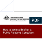 Writing a Communications Brief